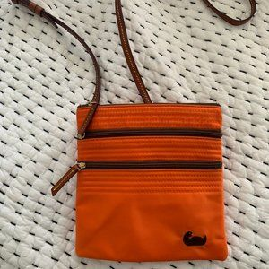 Dooney & Bourke  North/South Triple Zip